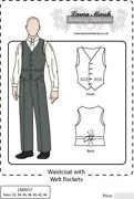 Mens Waistcoat Pattern