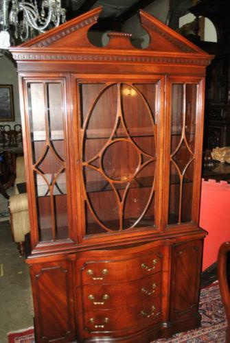 Mahogany China Cabinet Ebay