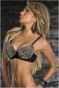 Spike Studded Bra