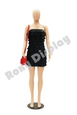 Female Plastic Unbreakable Mannequin Display Dress Form Display Ps-957-06f