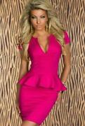 Pink Empire Waist Dress
