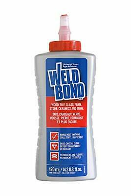 Weldbond 8-50420 Multi-Purpose Adhesive Glue 1-Pack As Pictured