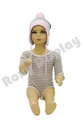Child Plastic Realistic Mannequin Dress Form Display Ps-kd-10