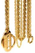 Antique Gold Pocket Watch Chain