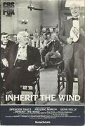 Inherit The Wind VHS