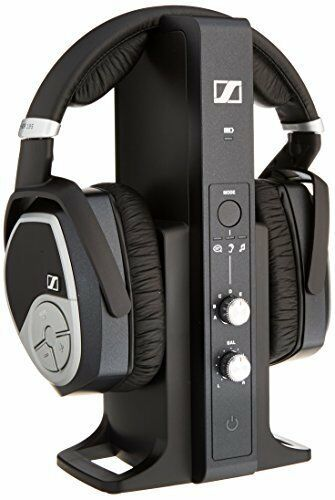 Sennheiser Over-the-Ear Wireless Headphone System Black RS 195