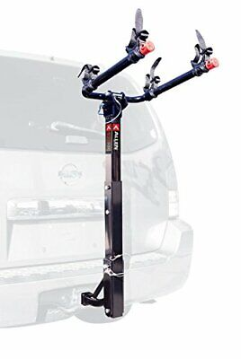 BEST Automotive Dual Bike Hitch Mount Rack w/ Folding Carry Arms - 70lb