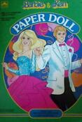 Barbie and Ken Paper Dolls