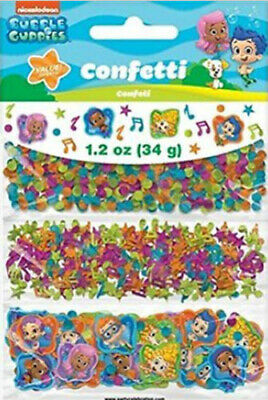 BUBBLE GUPPIES Birthday Party table CONFETTI  Deema Gil Oona 1 pack w/3 types
