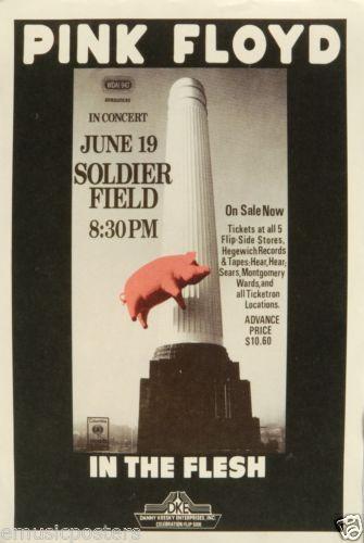 Pink Floyd Concert Poster Ebay