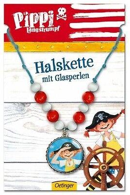 Pippi Langstrumpf Halskette Schmuck Kinder Kinderschmuck NEU