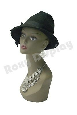 Female Mannequin Head Bust Wig Hat Jewelry Display #TinaB3