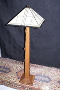 Antique Floor Lamp Base