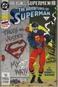 Superman Signed