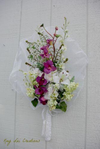 Wall flower arrangements floral decor ebay for Wall decor arrangements