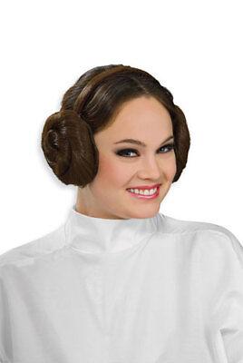 Princess Leia Headband with Hair Buns for Costume (Leia Hair)