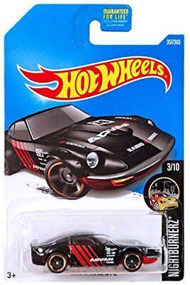 2017 Hot Wheels  Nissan Fairlady Z  #357/365  [Black] Nightburnerz  Diecast Car