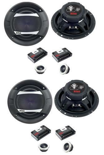 car 4 speakers set ebay. Black Bedroom Furniture Sets. Home Design Ideas