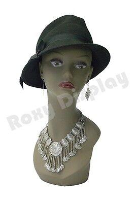 Female Mannequin Head Bust Wig Hat Jewelry Display BK #TinaB3