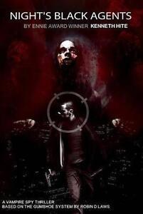 Night's Black Agents RPG by Night's Black Agents (Hardback, 2012)