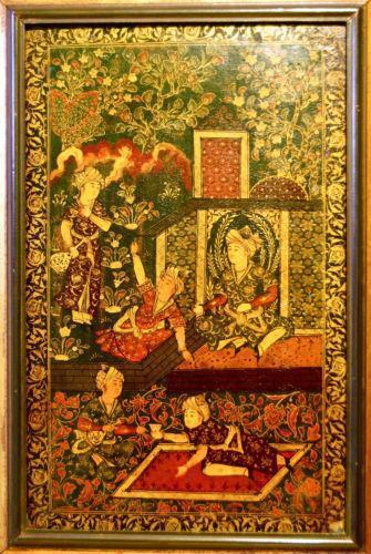 Antique Persian Painting Ebay