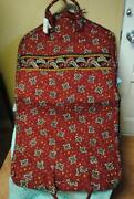 Vera Bradley Garment Bag Red