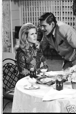 Bewitched Elizabeth Montgomery Dick York On Set Rare 1967 Abc Tv Photo Negative