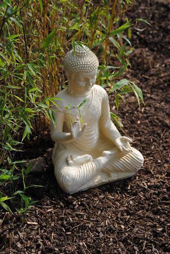 buddha statue garten ebay. Black Bedroom Furniture Sets. Home Design Ideas