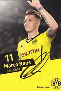 Marco Reus Autogrammkarte