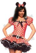 Ladies Fancy Dress Costumes Minnie Mouse