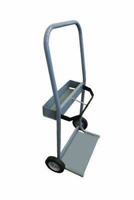 Gray Steel Cylinder Cart Size 4 5 - Crt4