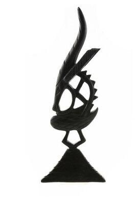 Statue Ciwara Tiwara Chiwara Ebony Mali Art Tribale Ms1