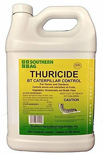 Thuricide BT Gallon Caterpillar & Worm Control 98.35% 128 oz. Southern Ag