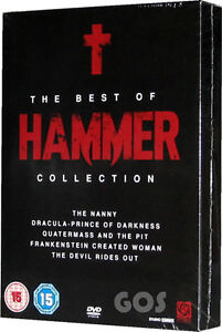 The Best Of Hammer Boxset Collection Cult Horror 5 Film Classic DVD New