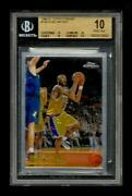 Kobe Bryant Topps Chrome Rookie