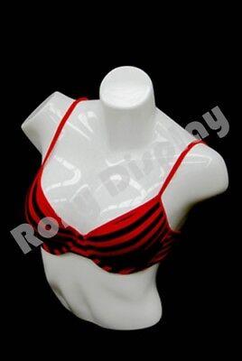 Female Unbreakable Full Round Plastic Mannequin Torso Ps-l-11wh