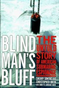 BLIND MAN'S BLUFF by Sherry Sontag FREE SHIPPING hardcover book military Drew