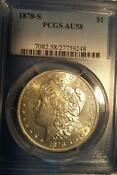 Morgan Dollar PCGS AU 58