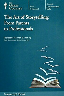 The Great Courses The Art of Storytelling: From Parents to Professionals CD's