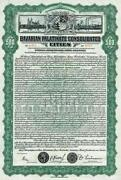 Gold Stock Certificate