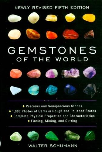 World Gemstones Identify Over 100 - Test Genuine or Synthetic w/1500+ Color Pix