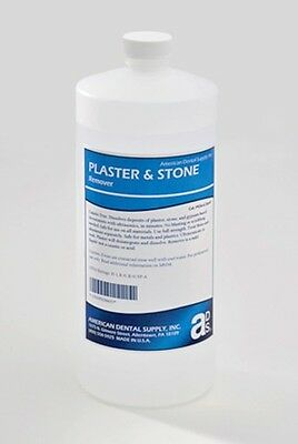 Plaster Stone Remover- Quart Liquid For Dental Lab