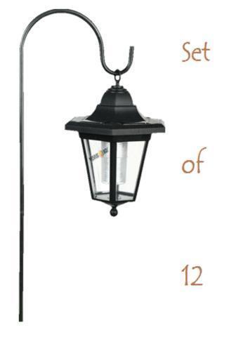 hanging solar lights ebay. Black Bedroom Furniture Sets. Home Design Ideas