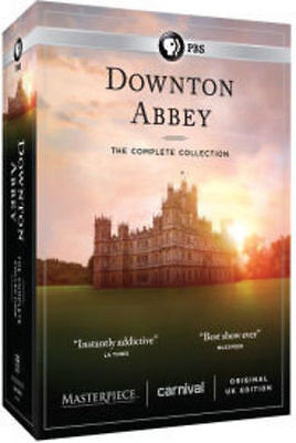Downton Abbey: The Complete Collection Season 1-6 (DVD) BRAND NEW! FREE SHIPPING