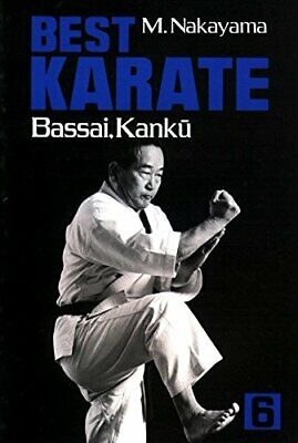 Best Karate, Vol.6: Bassai, Kanku (Best Karate Series) by Nakayama, (Best Karate Series)