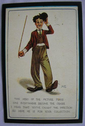 Charlie Chaplin Postcard | eBay