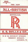 Rolls Royce Brochure