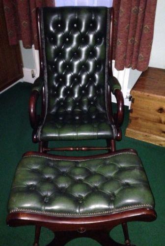 Chesterfield Rocking Chair Ebay