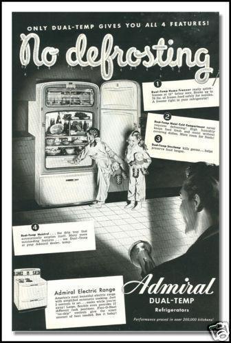 Vintage Admiral Refrigerator Ebay