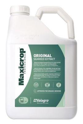 10lt Maxicrop Seaweed Extract Organic Original Liquid Garden Feed
